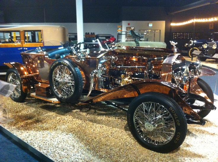 1921 Copper Rolls Royce. Now THAT is a car!