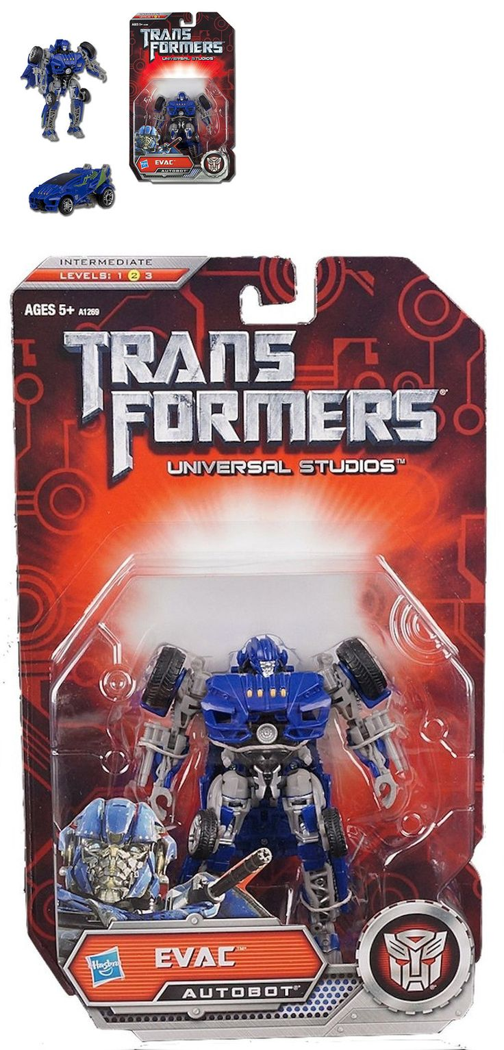 Transformers and Robots 83732: Transformers Evac Deluxe Class Action Figure Universal Studios Exclusive Autobot -> BUY IT NOW ONLY: $42.5 on eBay!