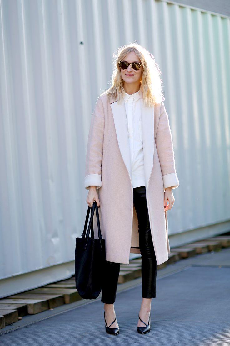 Pink + black.