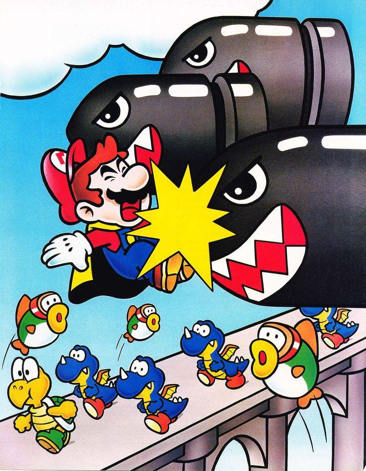 Special World - Super Mario World 2 Yoshi's Island