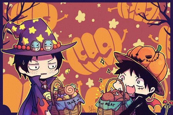 One Piece Halloween Anime