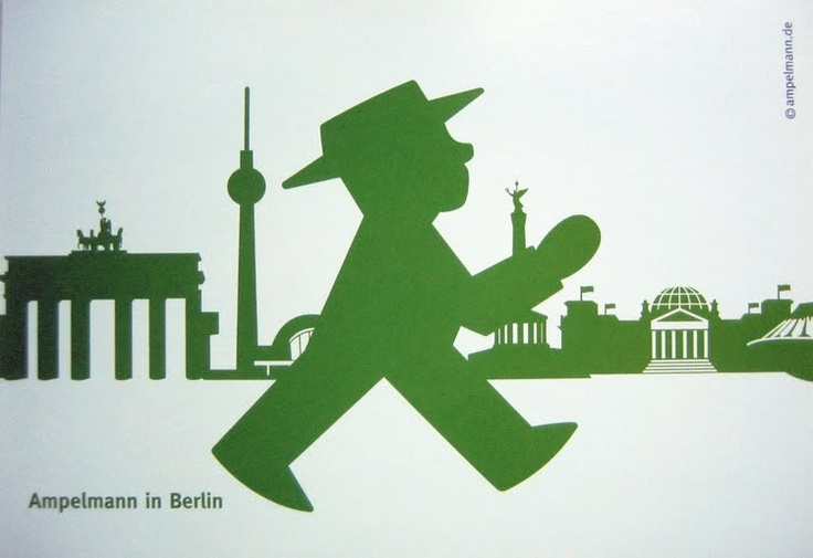 Berliners love Ampelmann