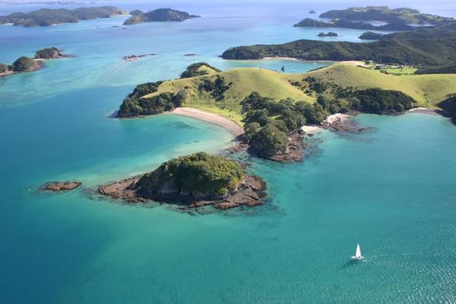 Paysage merveilleux de NZ