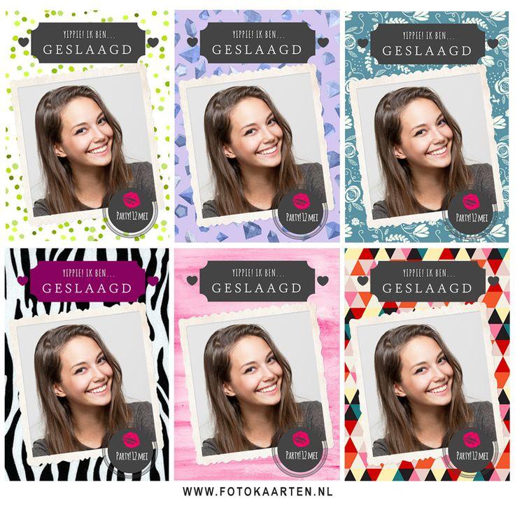www.fotokaarten.nl Knutsel zelf je fotokaart in elkaar. Zo zie je hoe je kaart compleet anders eruit kan zien, door van achtergrondje te wisselen. Leuk om uit te proberen. Je kaart kun je bewaren, of een proefkaartje bestellen.