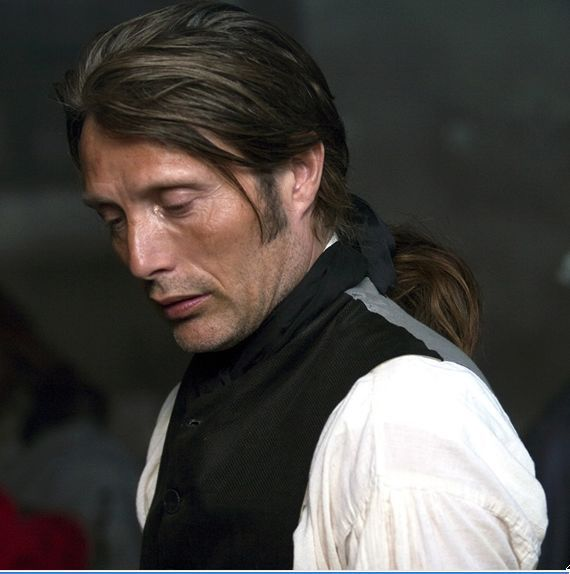 When I saw this film I realised I'd been waiting all my life just to see Mads wearing his hair in a queue!