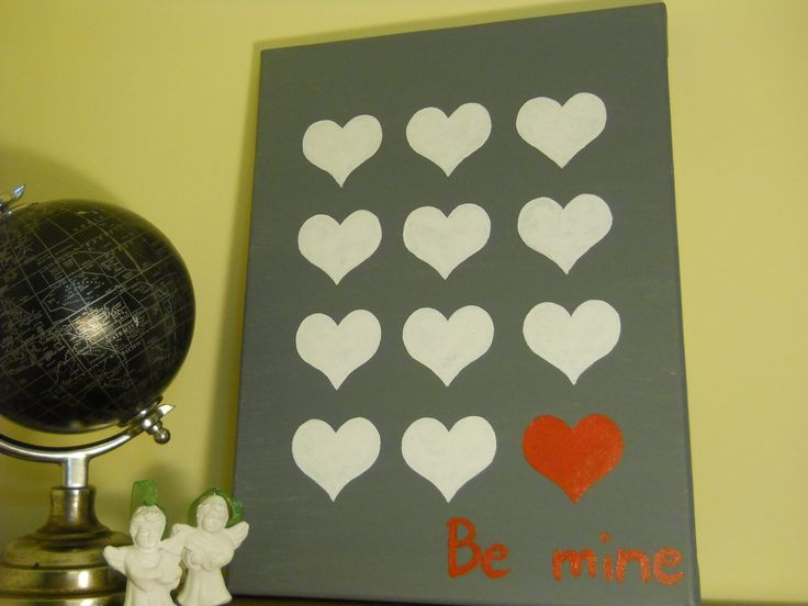Canvas for Valetine's Day