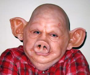 pig makeup - Google Search (I AM CREEPED OUT.) | Board 10 ...
