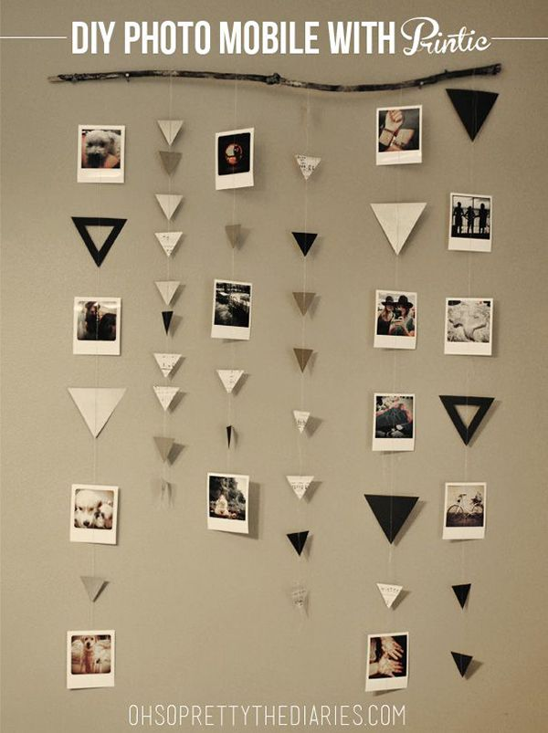 15 Awesome DIY Photo Collage Ideas for Your Dorm Bedroom by Gurl.com
