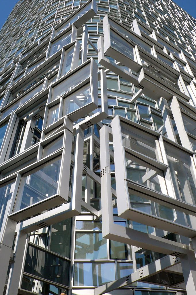9 best images about architect nyc on pinterest santiago for Architecture jean nouvel