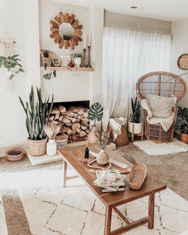 Go East For Boho Inspired Home Decor: 30 Boho Living Room Ideas