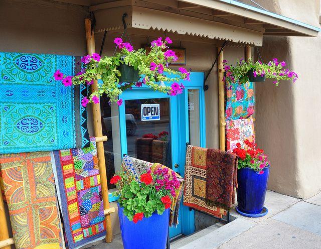 santa fe colors by texas charm via flickr - Santa Fe Colors