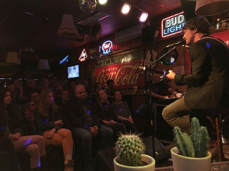 Matthew Crosby - Huiskamerconcert - Muziekcafe de Cactus, Hengelo (04-03-2018)