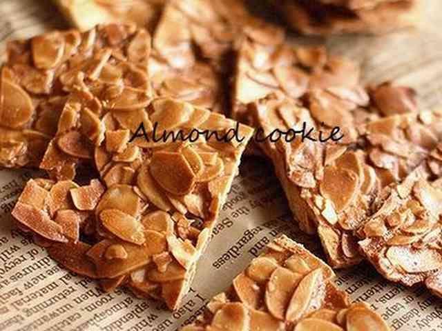 ♪パリパリ美味しい アーモンドクッキー♪の画像