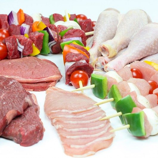 Griddle & Grill Mixed Meat Hamper - Just 35p per item!!!  Perfect selection of steaks diced turkey, chicken drumsticks and more!  Think of the BBQs...
