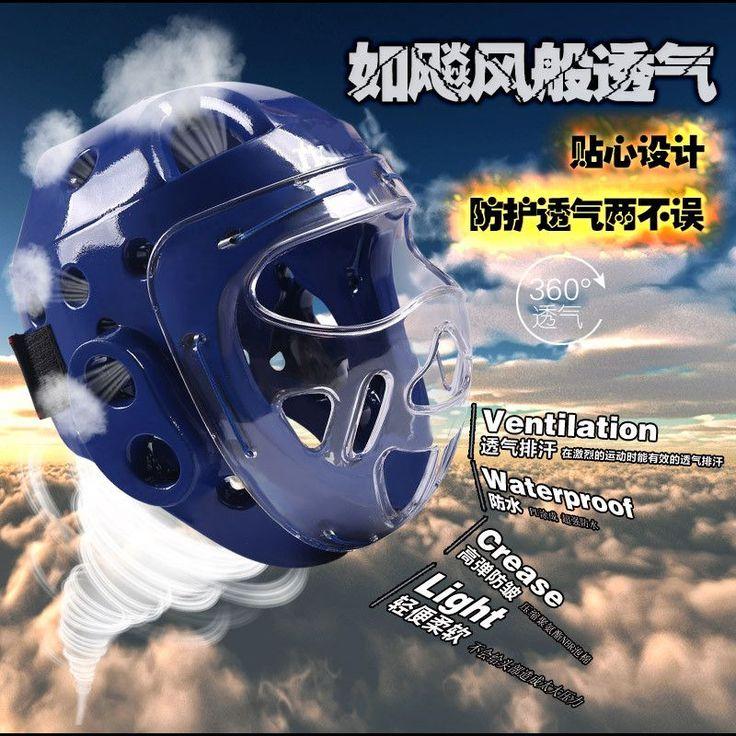 Taekwondo Helmet Boxing Headgear Karate Capacete Dobok Kickboxing Sanda Head Guard Protection ITF WTF Training Protector