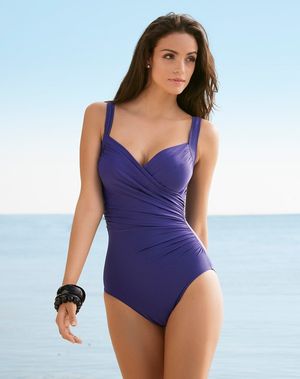 Miraclesuit® Sanibel One Piece Swimsuit in gorgeous ...