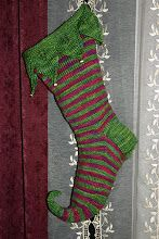 Cutest Christmas stocking ever. Finally found the ones I'm knitting!