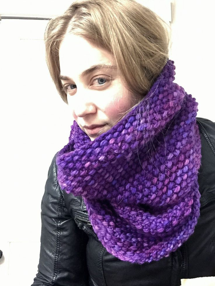 SoTwisticated's radiant orchid cowl.