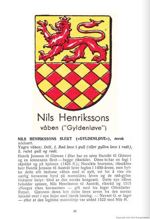 Nils Henriksson (Gyldenløve)
