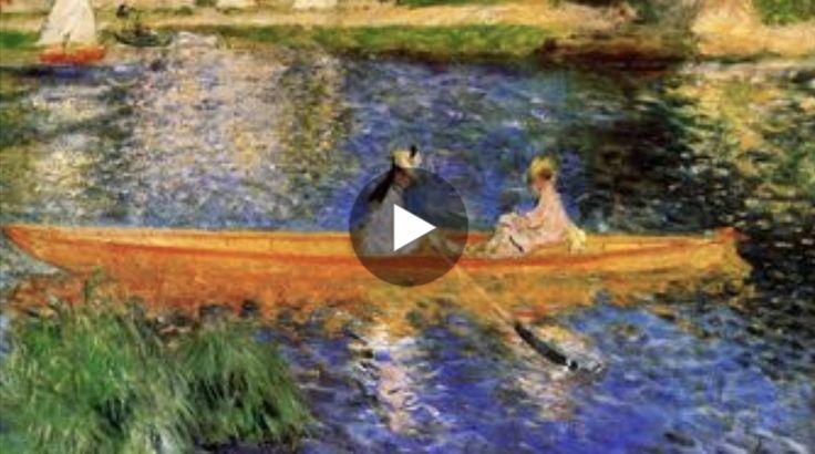 A chi non piacerebbe passeggiare nei dipinti di Pierre-Auguste Renoir? Questo bellissimo video, realizzato dal canale YouTube Musicyarte, ci permette di fa