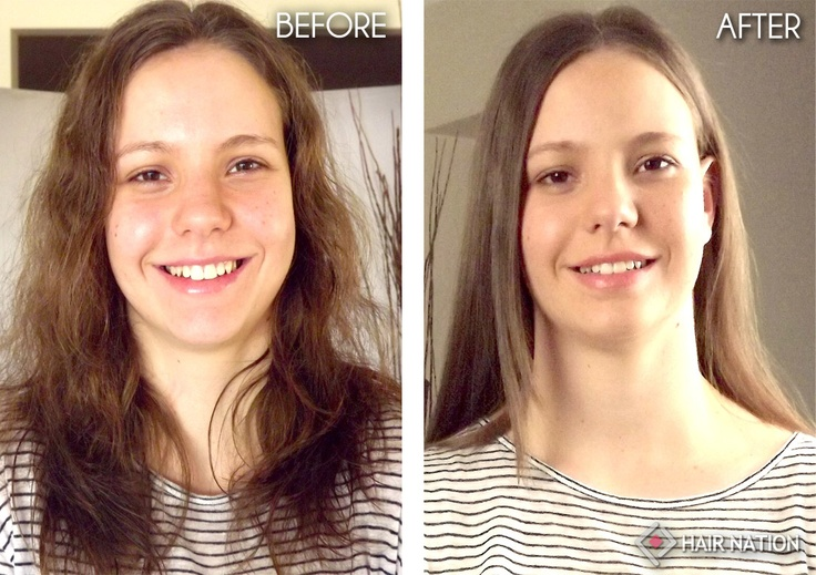 how to keep hair straight after straightening it