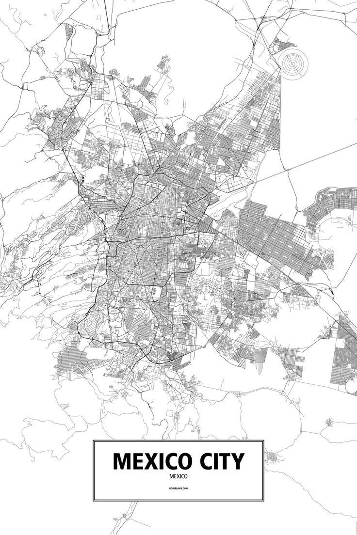 Mexico City - Routelines