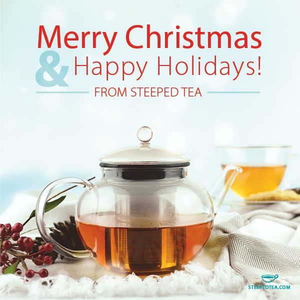 Steeped Tea is all about who you share it with. Enjoy with friends and family this holiday season!