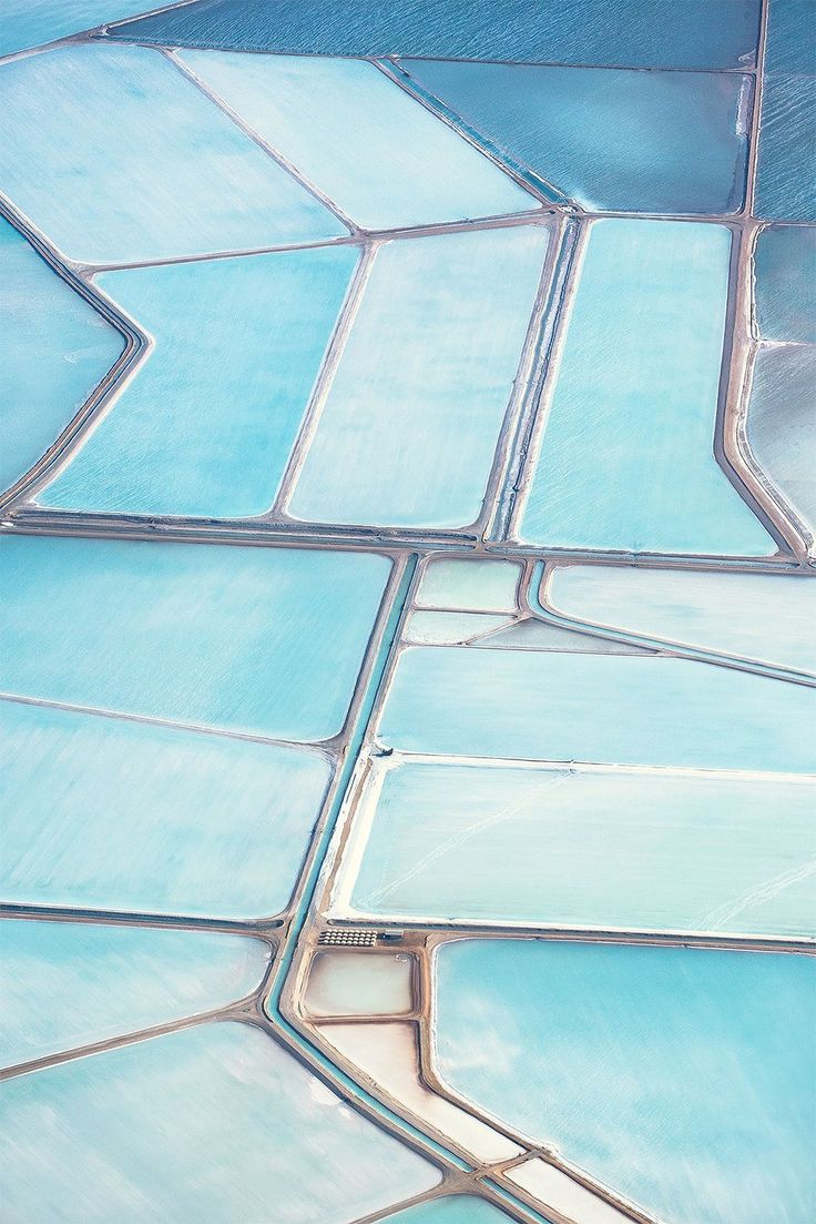 Blue salt fields in Australia - Imgur