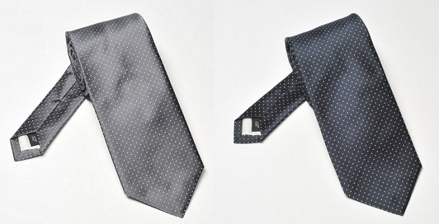 Tie should be toned down, without unnecessary flamboyance. One of the most versatile ties is a blue or grey, silky grenadine. A bow-tie is also an option.(ph. www.eleganckipan.com.pl)