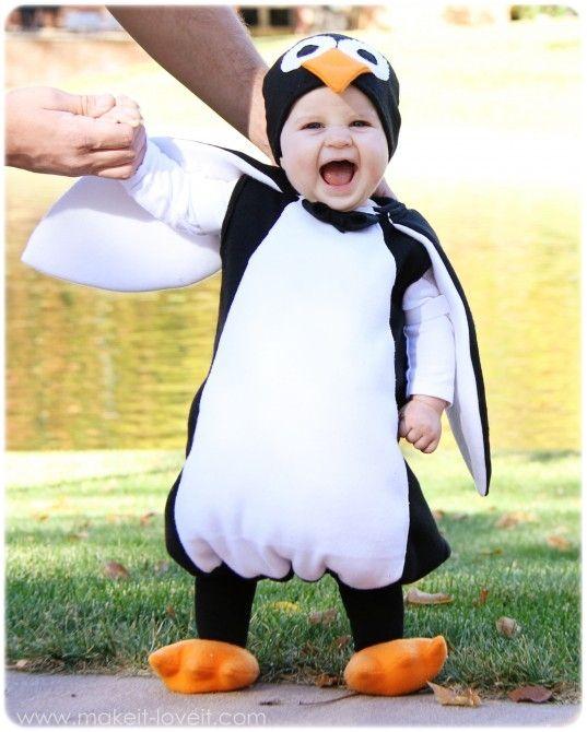 W il Carnevale - costume da Pinguino ~ Le creazioni di Marzia