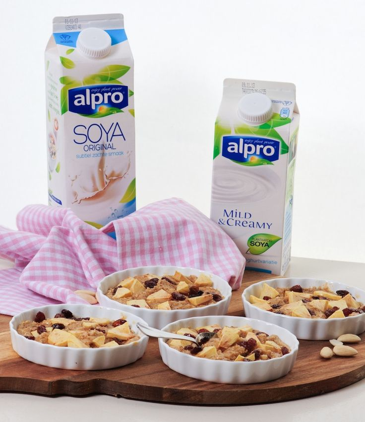 Alpro ontbijt appeltaartjes: Misschien net iets te riant, maar lijkt me heerlijk.