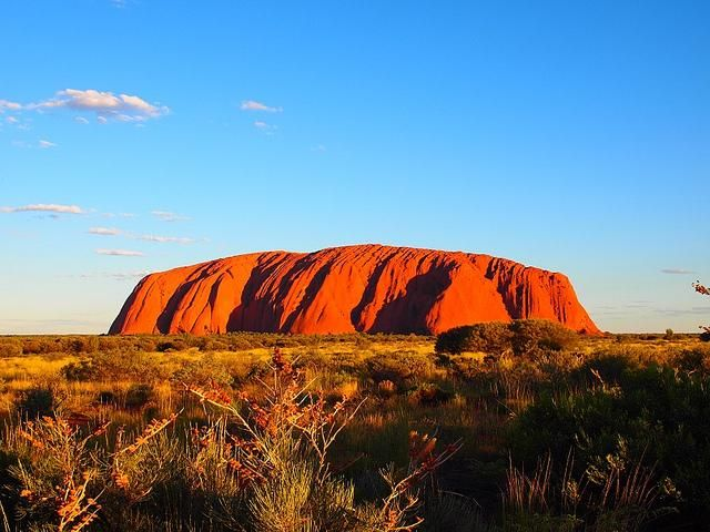 Ayers Rock Also Known As Oolaroo Scenes From Down Under