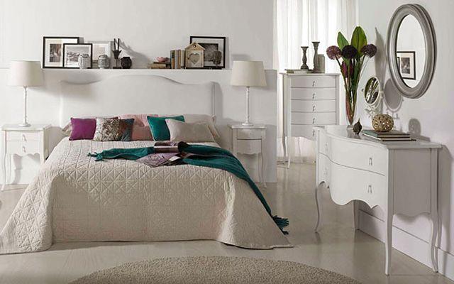 La cómoda en la decoración del dormitorio