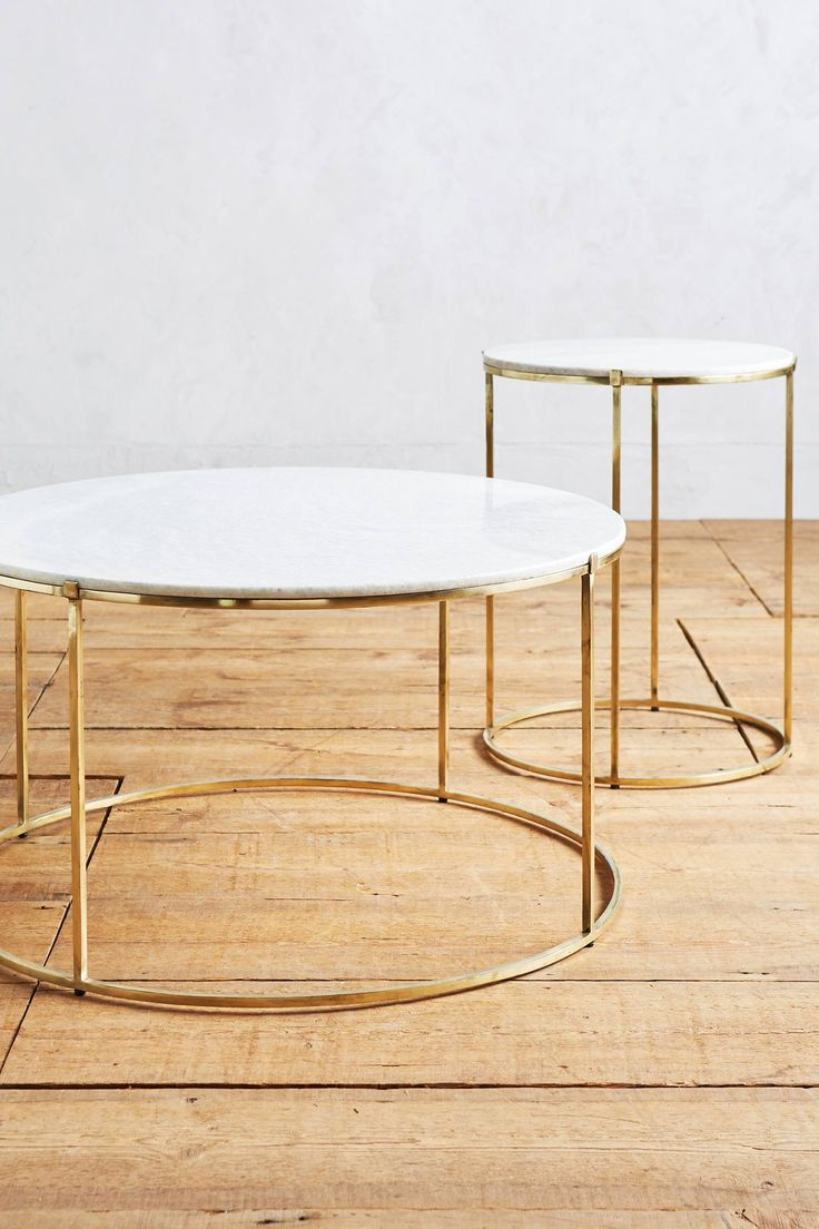 Leavenworth Marble Coffee Table - anthropologie.com