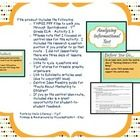This product includes the following: oTHREE PDF files to walk you through  Springboard – 7th Grade ELA – Activity 2.3 o*Please note that I focuse...