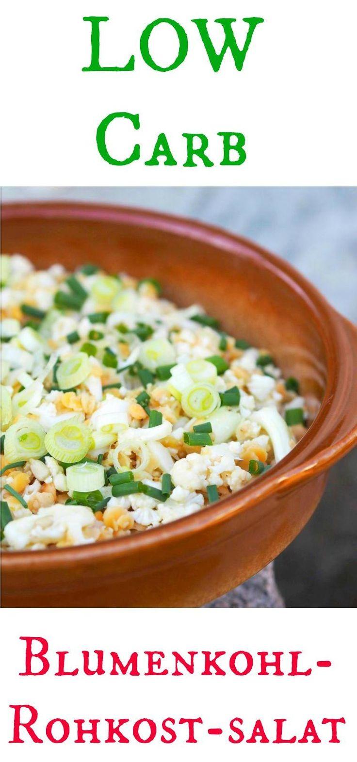 Ein leckerer Low-Carb Blumenkohl – Rohkostsalat mi Linsen ist genau das richtig zum Grillen. Schnell zubereitet zum Thermomix und fruchtbar lecker. Auch am nächsten Tag im ToGo Becher ins Geschäft eine super Sache. Probiert es aus… ist ungefähr so wie der bekannte Brokkolisalat (genauso gut)! Eat Healthy !