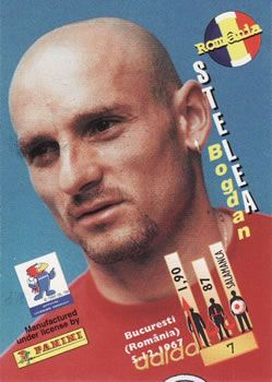 1998 Panini World Cup #7 Bogodan Stelea Back