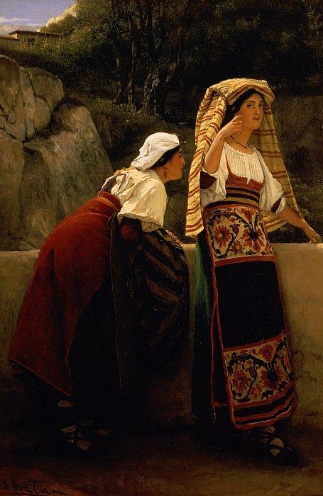 ITALIAN WOMEN FROM ABRUZZO