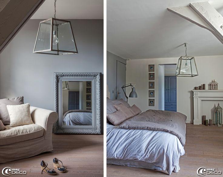 suspension 39 chehoma 39 fauteuil en lin 39 am pm 39 et miroir 39 maisons du monde 39 housse de couette. Black Bedroom Furniture Sets. Home Design Ideas