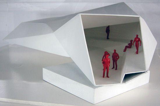 study model for nestlé chocolate museum, rojkind arquitectos