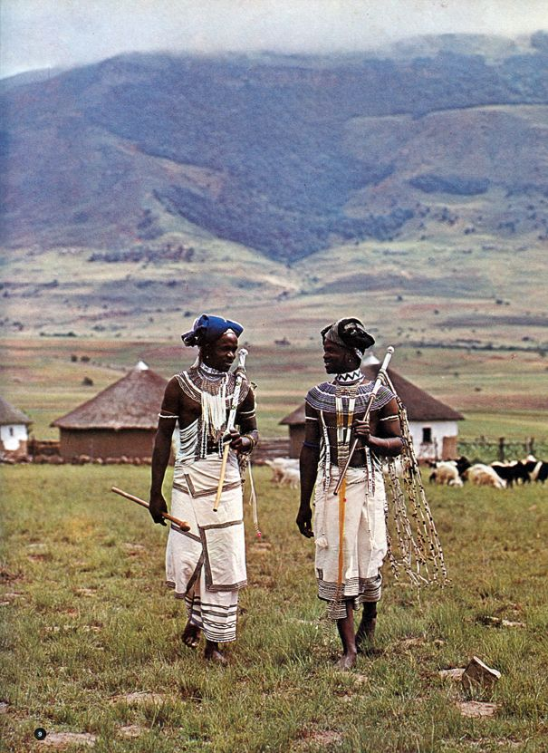 Africa | People. In the early 1970s Jean Broster and Alice Mertens collaborated on African Elegance, a book which set out to 'describe in photographs and words the beauty of the tribal people of the Transkei'. The Transkei was a former independent territory of South Africa during Apartheid. Photo taken out of this book.