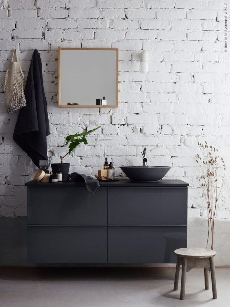 Grått i vått och torrt | IKEA Livet Hemma – inspirerande inredning för hemmet