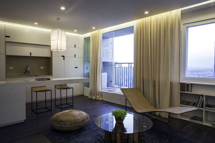 Apartment Renovation under Hanoi Interior Among Modern Kitchen Design Used Beige Curtain Decoration Ideas as Home Inspiration To Your House
