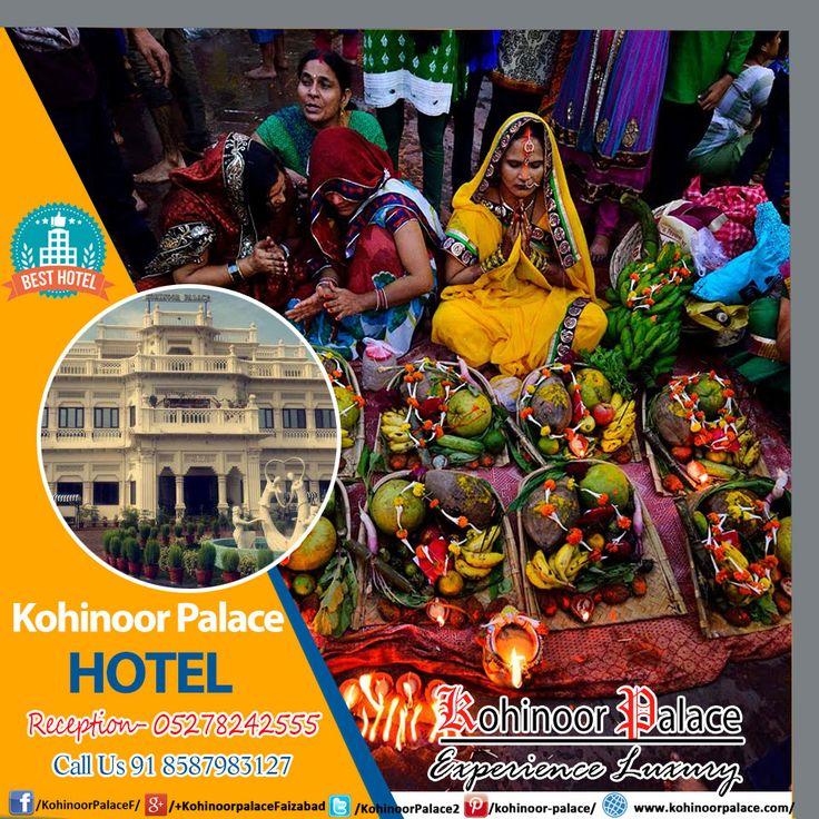 HAPPY #CHHATH #PUJA #Hotel in Faizabad, Best HOTEL in #Faizabad, Ayodhya / Top BANQUET in Faizabad Call US: 8587983127 Reception - 05278242555