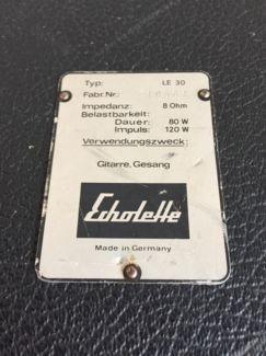 Echolette LE30 Leerbox, Leergehäuse 12 Zoll, 2x10 Zoll in Baden-Württemberg - Ulm   Musikinstrumente und Zubehör gebraucht kaufen   eBay Kleinanzeigen