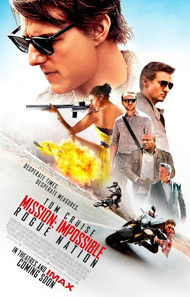 Mission Impossible 5 Rogue Nation (2015) Dual Audio [Hindi-DD5.1] 720p BluRay ESubs Download