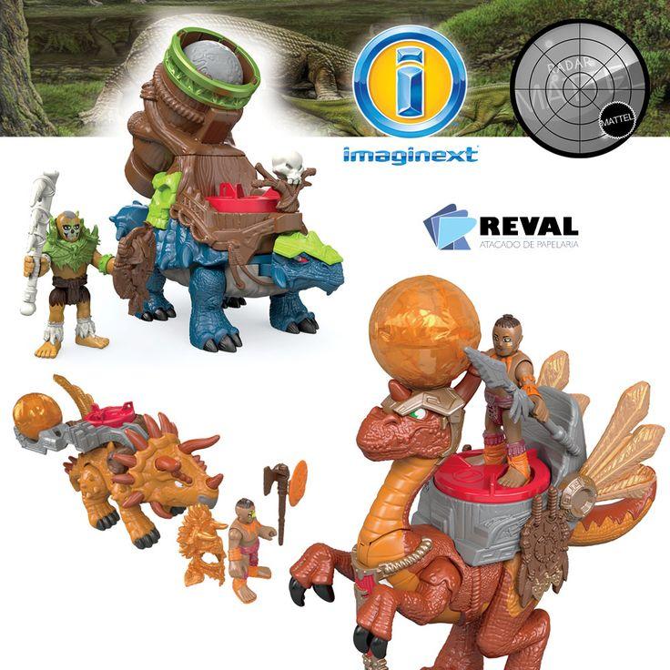 Conheça Dino Novo Sortimento de Imaginext! Peça pelo código Reval 58611 (ref. Mattel: CDW85) pelo 0800-701-1811 ou pelos representantes de vendas de sua região e ótimas vendas! Juntos, eles ajudam as crianças a criarem suas próprias histórias na perigosa selva jurássica! Cada conjunto é vendido separadamente, sujeito à disponibilidade.  #Reval #Mattel #RadarMattel #Imaginext #Dino #Dinosaur #Dinossauro #Toy #Brinquedo #Kids