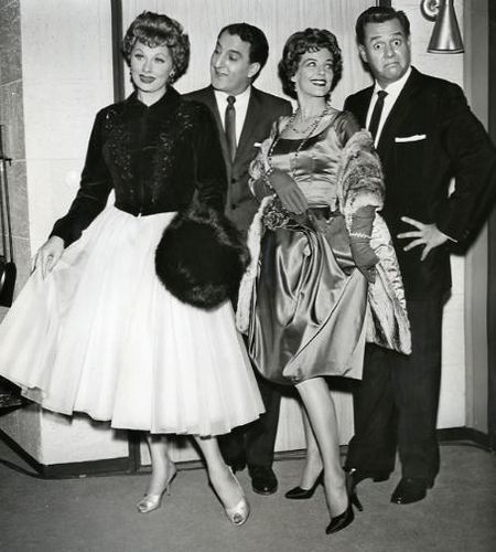 Lucille Ball - Lucy with Danny Thomas, Marjorie Lord & Desi