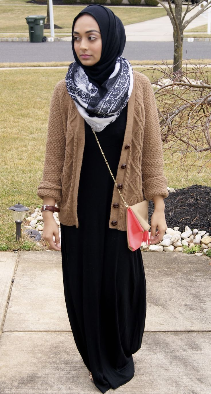 maxi and comfy sweater