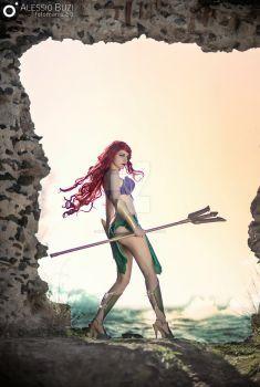 Ariel armored by Chiara-LittleOwlie